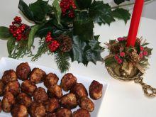 Szwedzkie świąteczne klopsiki