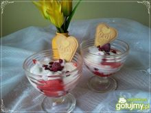 Szybciutki deser jogurtowo-arbuzowy