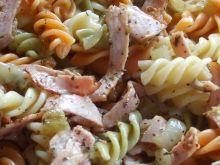 Szybka kolacja z makaronem tricolore