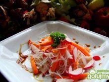 Szybka lekka sałatka chińska