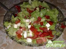 Szybka sałatka grecka