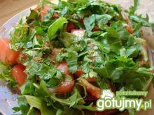 Szybka sałatka z pomidorami