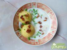 Szybka zupa czosnkowo-ogórkowa
