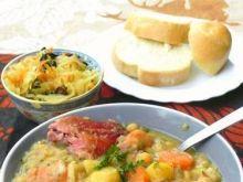 Szybka zupa grochowa