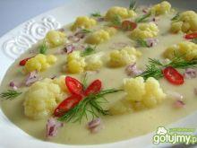 Szybka zupa krem z kalafiora