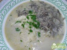 szybka zupa pieczarkowa