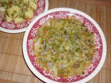 Szybka zupa z wloskiej kapusty.