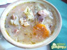 Szybka zupa ze słodkiej kapusty