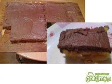 Szybki biszkopt jabłkowo-czekoladowy
