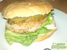 Szybki domowy hamburger wg Alex
