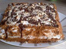 Szybki tort z bitą śmietaną