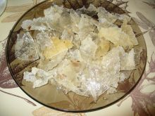 Szybkie chipsy z papieru ryżowego