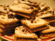 Szybkie ciasteczka z krówką :)