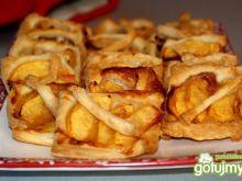 Szybkie ciastka francuskie z owocami