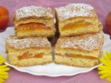 Szybkie ciasto morelowo- nektarynkowe