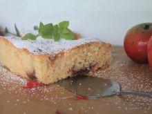 Szybkie ciasto ucierane z owocami