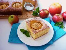 Szybkie ciasto z jabłkami