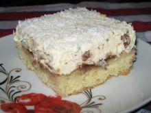 Szybkie ciasto z kremem