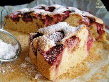 Szybkie ciasto z truskawkami