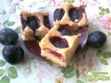 Szybkie ciasto ze śliwkami Katarzyny