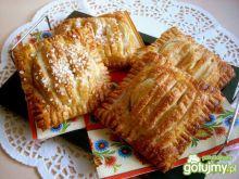Szybkie francuskie ciastka z jabłkiem