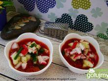 Szybkie gazpacho z nowalijkami