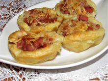 Szybkie muffinki z parówką i mielonką