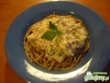 Szybkie spagetti carbonara