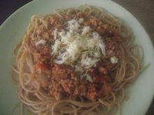 Szybkie spaghetti by me