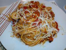 Szybkie spaghetti z kiełbasą