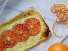 Szybkie tarty z czerwoną pomarańczą