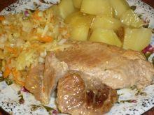 Szynka w mięsnym sosie