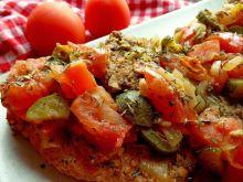 Szynka w pomidorach na sposób śródziemnomorski