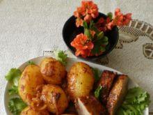 Szynka z ziemniakami z piekarnika :