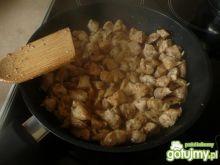 Tagiatelle z sosem serowym