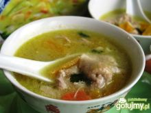 Tajska zupa niby z torebki