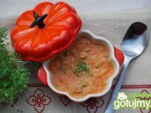 Tajska zupa pomidorowa z krewetkami