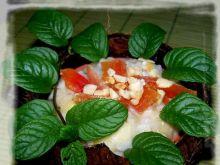 Tajski deser w kokosie