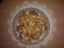 Talarki z ciasta francuskiego z makiem