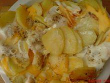 Talarki z jajkiem i cebulką