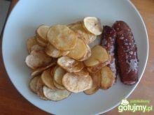 Talarki z młodych ziemniaków z oleju