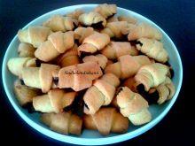 Tanie rogaliki kokosowo- czekoladowe