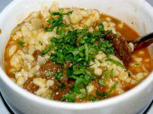 Tarhonya -węgierski makaron z mięsem