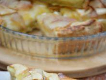 Tarta budyniowa z jabłkami