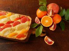Tarta cytrusowa z kremem limoncello