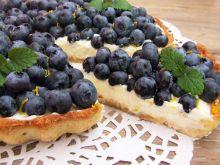 Tarta cytrynowa z borówkami