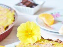 Tarta czekoladowo-cytrynowa