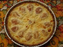 Tarta gruszkowa z kremem waniliowym