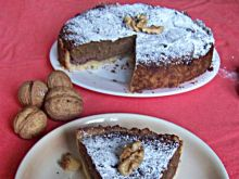 Tarta czekoladowa z orzechami