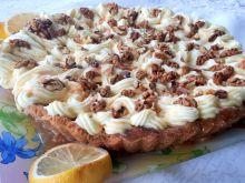 Tarta orzechowo-cytrynowa